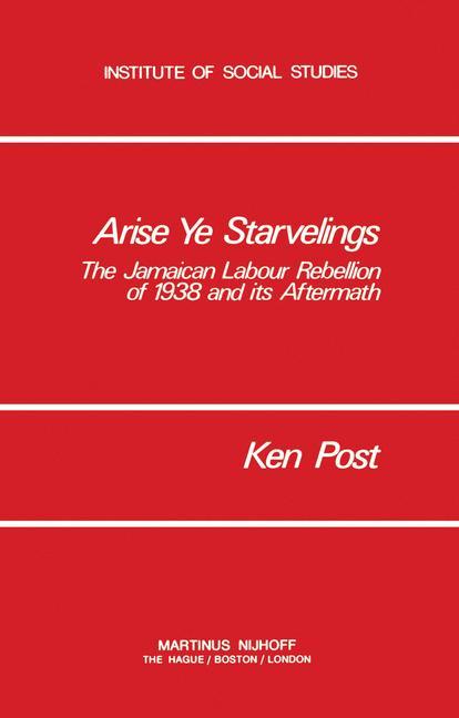 Cover of 'Arise Ye Starvelings'