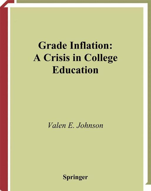 Cover of 'Grade Inflation'