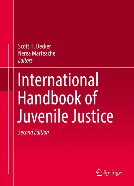 Cover of 'International Handbook of Juvenile Justice'