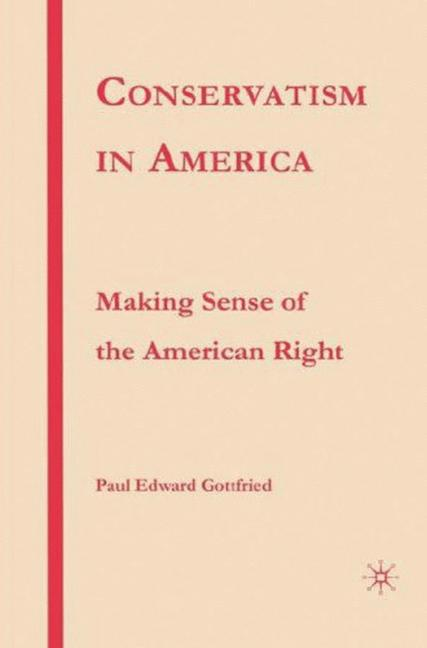 Cover of 'Conservatism in America'