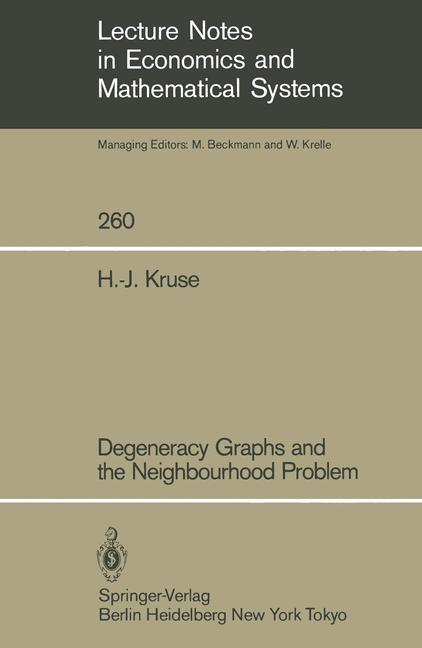 Cover of 'Degeneracy Graphs and the Neighbourhood Problem'