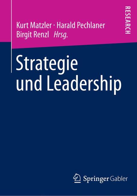 Cover of 'Strategie und Leadership'
