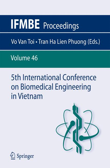 Cover of '5th International Conference on Biomedical Engineering in Vietnam'