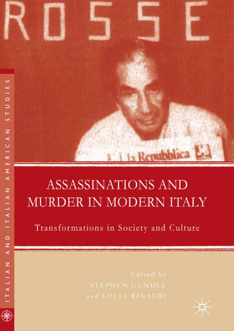 Cover of 'Assassinations and Murder in Modern Italy'