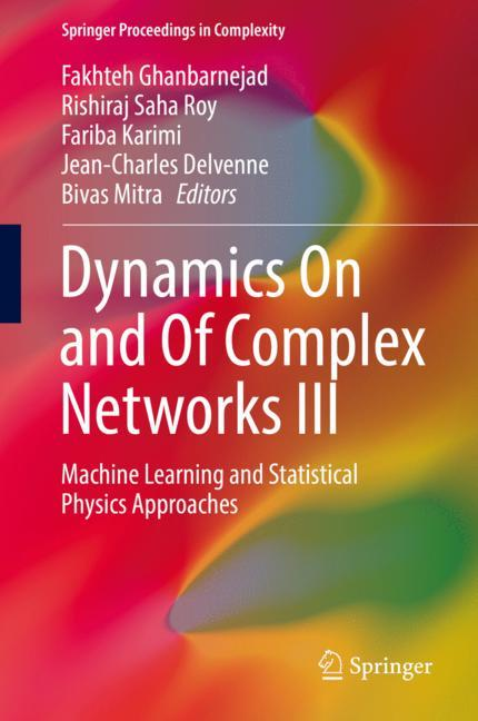 Cover of 'Dynamics On and Of Complex Networks III'