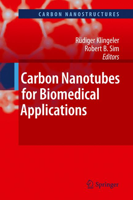 Cover of 'Carbon Nanotubes for Biomedical Applications'