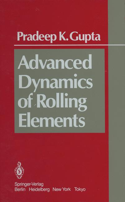 Cover of 'Advanced Dynamics of Rolling Elements'