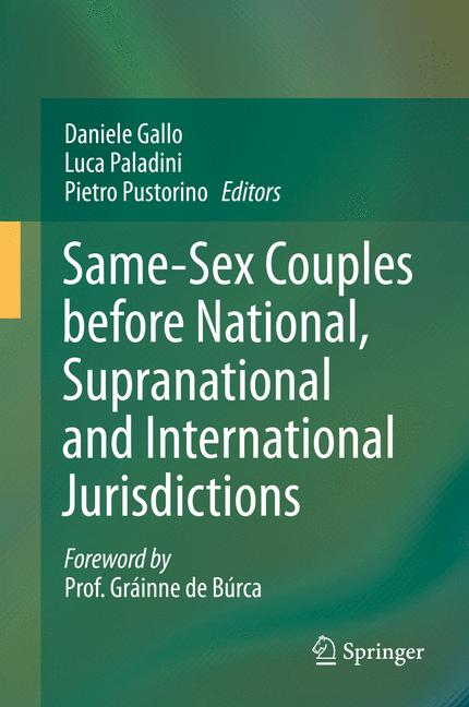 Cover of 'Same-Sex Couples before National, Supranational and International Jurisdictions'