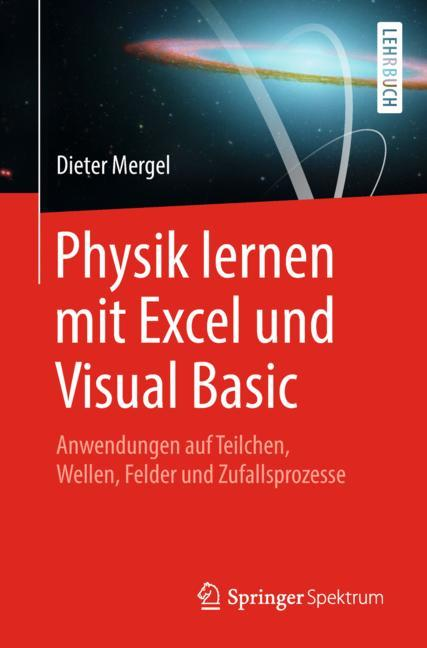Cover of 'Physik lernen mit Excel und Visual Basic'
