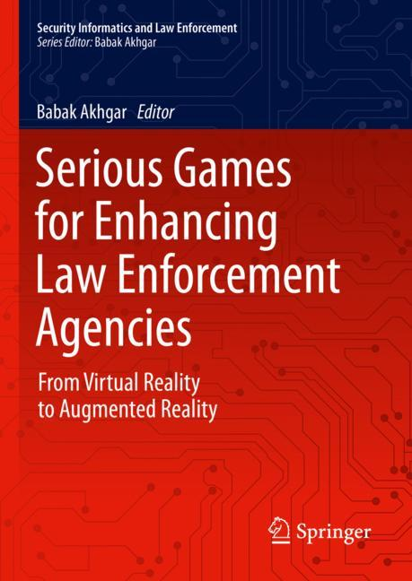 Cover of 'Serious Games for Enhancing Law Enforcement Agencies'