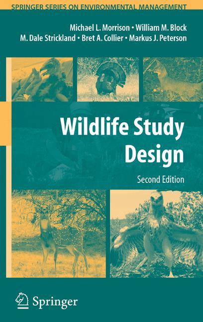 Cover of 'Wildlife Study Design'