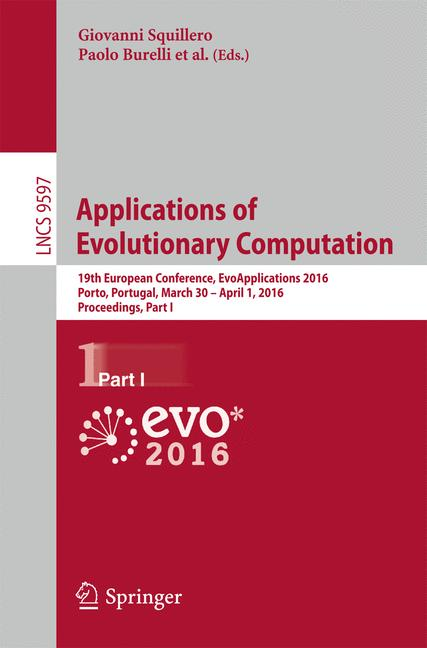Cover of 'Applications of Evolutionary Computation'
