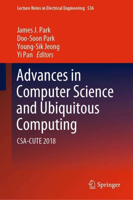 Cover of 'Advances in Computer Science and Ubiquitous Computing'