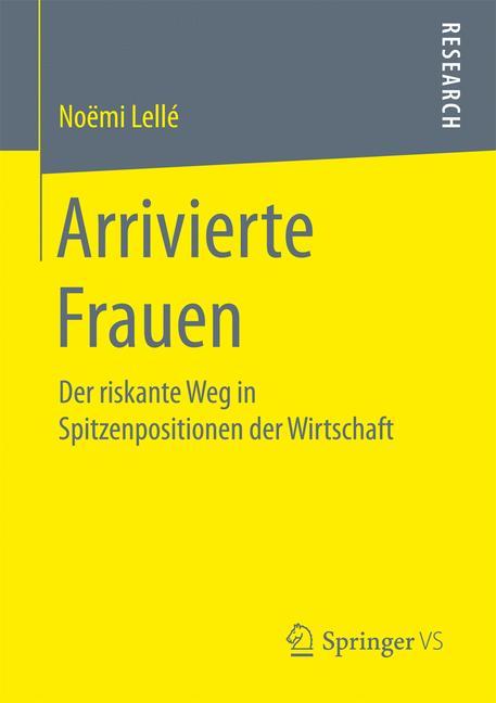 Cover of 'Arrivierte Frauen'