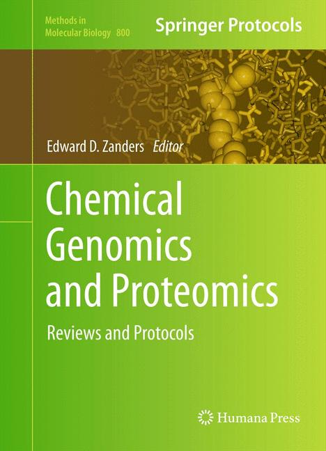 Cover of 'Chemical Genomics and Proteomics'
