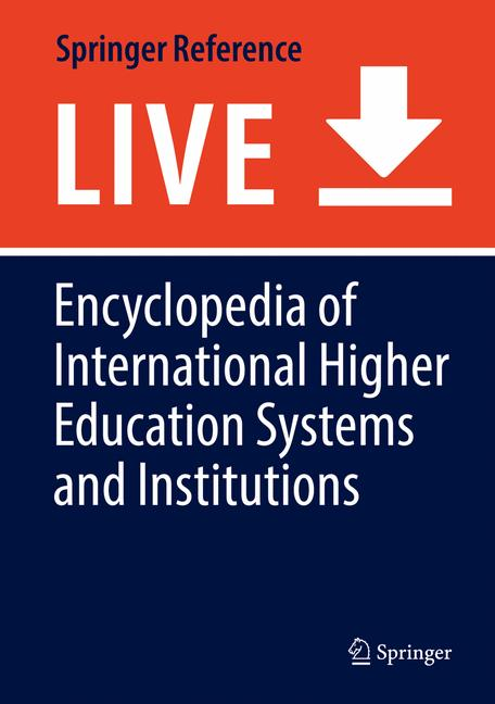 Cover of 'Encyclopedia of International Higher Education Systems and Institutions'