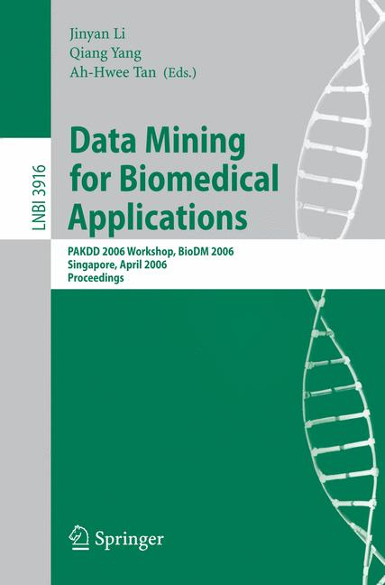 Cover of 'Data Mining for Biomedical Applications'