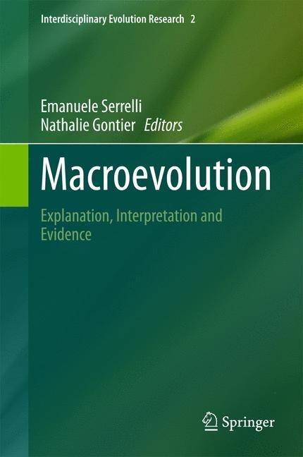 Cover of 'Macroevolution'