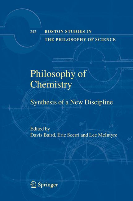 Cover of 'Philosophy Of Chemistry'