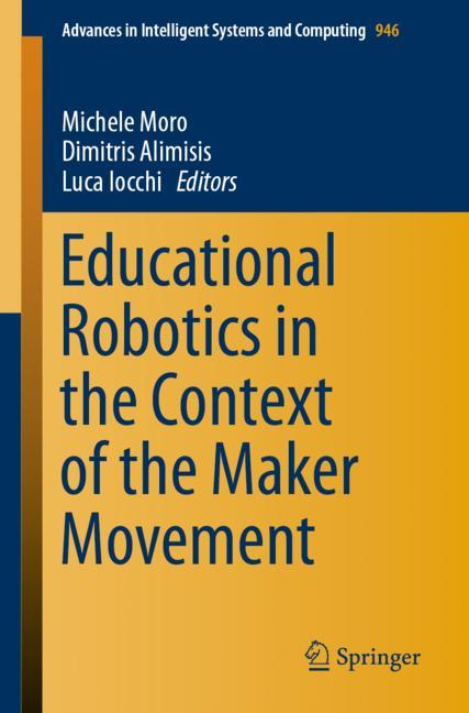 Cover of 'Educational Robotics in the Context of the Maker Movement'