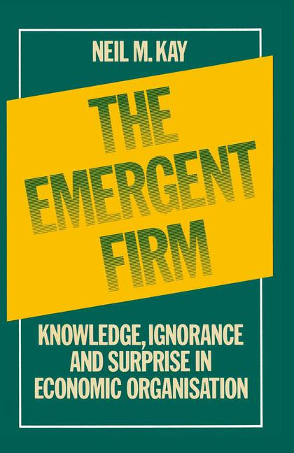 Cover of 'The Emergent Firm'