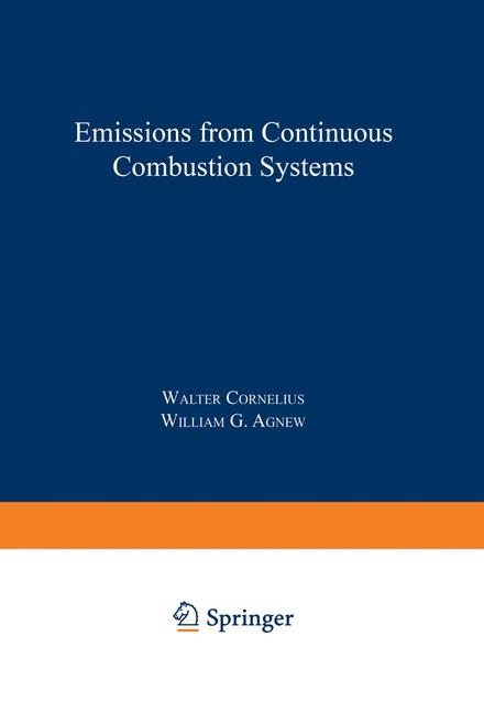 Cover of 'Emissions from Continuous Combustion Systems'