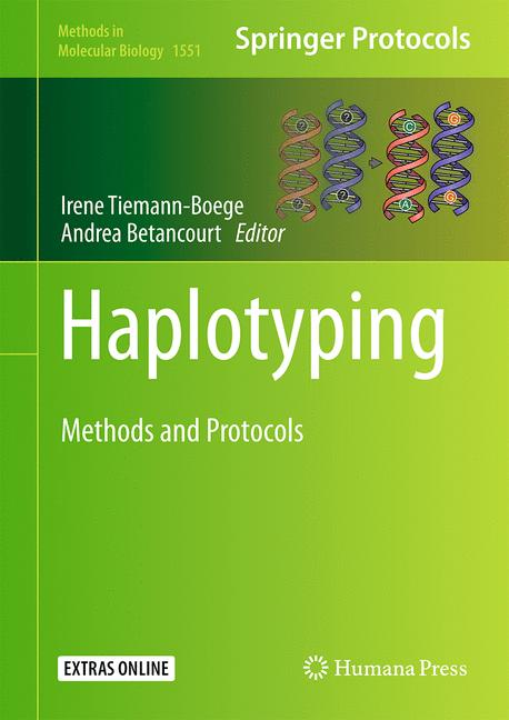 Cover of 'Haplotyping'