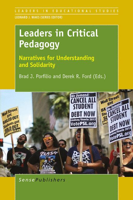 Cover of 'Leaders in Critical Pedagogy'