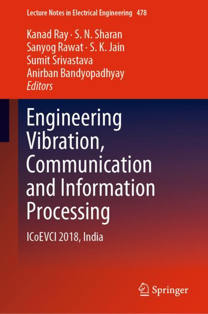 Cover of 'Engineering Vibration, Communication and Information Processing'