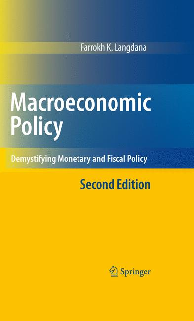 Cover of 'Macroeconomic Policy'