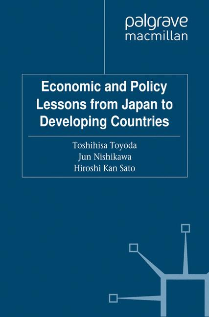 Cover of 'Economic and Policy Lessons from Japan to Developing Countries'