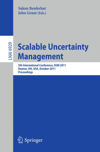 Cover of 'Scalable Uncertainty Management'