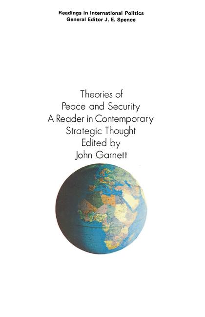 Cover of 'Theories of Peace and Security'