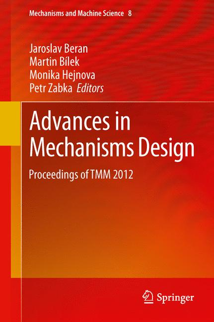 Cover of 'Advances in Mechanisms Design'
