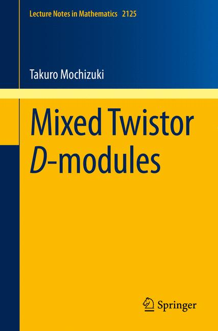 Cover of 'Mixed Twistor D-modules'