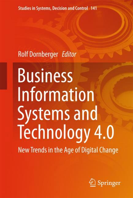 Cover of 'Business Information Systems and Technology 4.0'