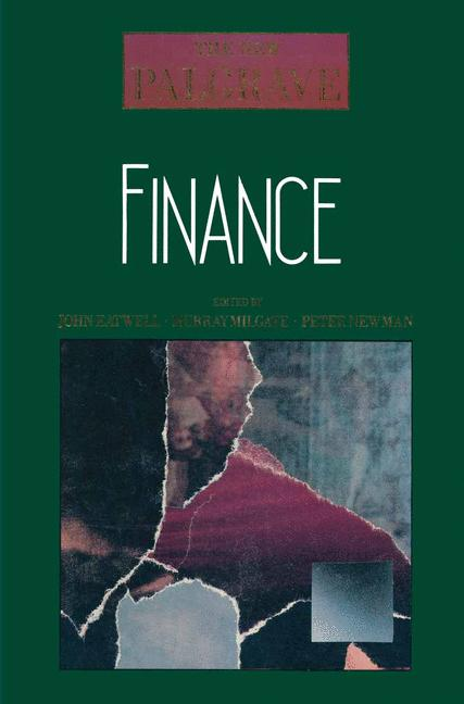 Cover of 'Finance'