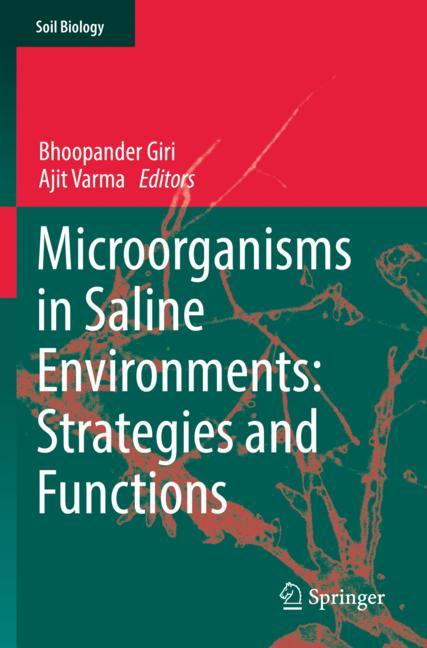 Cover of 'Microorganisms in Saline Environments: Strategies and Functions'