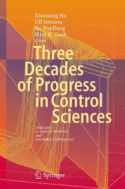 Cover of 'Three Decades of Progress in Control Sciences'