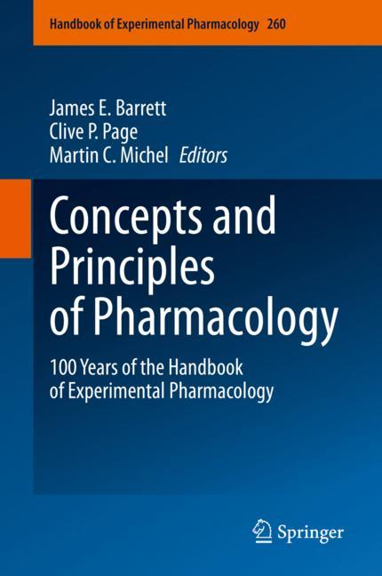Cover of 'Concepts and Principles of Pharmacology'
