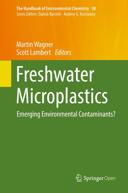 Cover of 'Freshwater Microplastics '