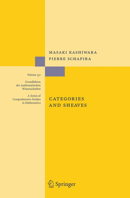 Cover of 'Categories and sheaves'