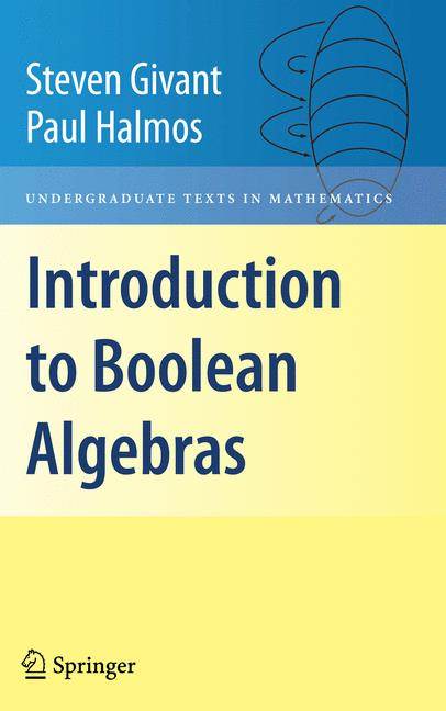 Cover of 'Introduction to Boolean Algebras'