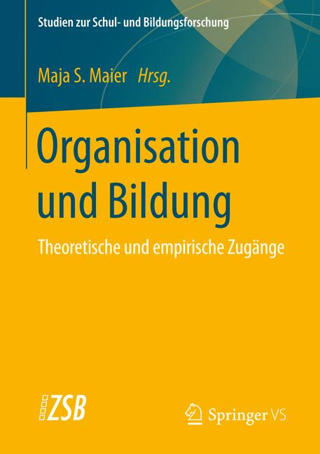 Cover of 'Organisation und Bildung'