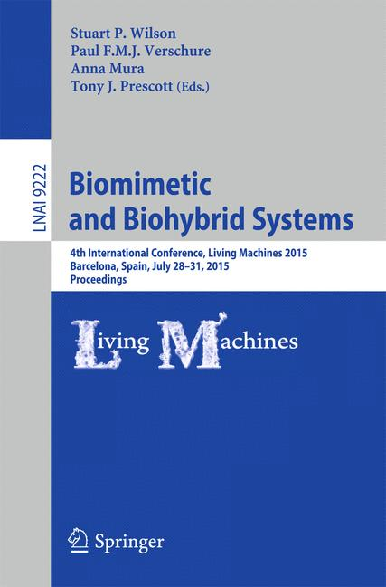 Cover of 'Biomimetic and Biohybrid Systems'