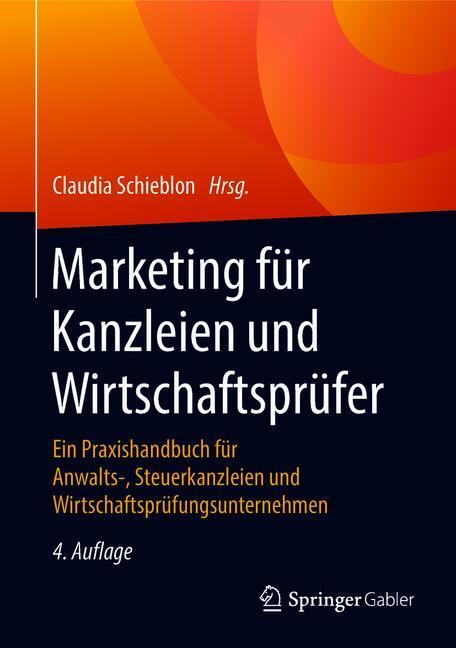 Cover of 'Marketing für Kanzleien und Wirtschaftsprüfer'