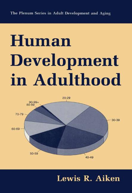 Cover of 'Human development in adulthood'