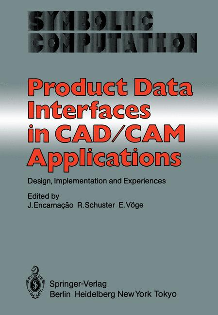Cover of 'Product Data Interfaces in CAD/CAM Applications'