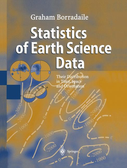 Cover of 'Statistics of Earth Science Data'