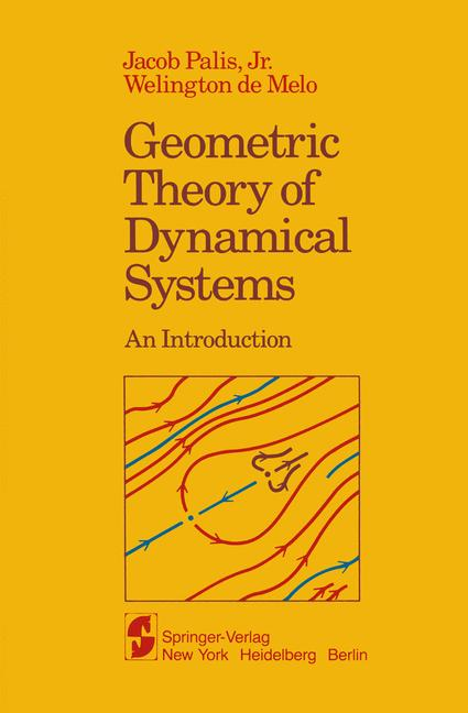 Cover of 'Geometric Theory of Dynamical Systems : An Introduction'